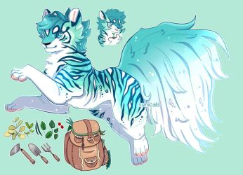 Herb Gathering Tiger OTA [CLOSED] by synicals