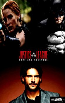 Justice League Gods and Monsters poster by SteveIrwinFan96