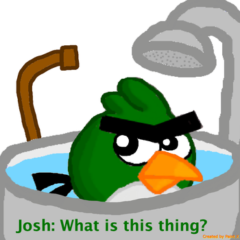 Josh's Bath Time with Roger Part 10 by Mario1998