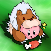 Kirby Tuesday-Animal kirby by thegamingdrawer