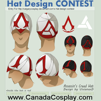 Assassins Creed Hat by Cuine