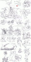Pokemon Pencil Dump