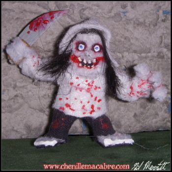 Jeff The Killer Chenille Stem Miniature by the-gil-monster