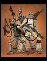 Bounty Hunters by HannahNew