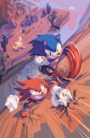 Sonic the Hedgehog #3 (A) Raw by ItzDarkky