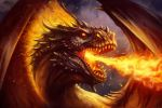 Fire Dragon by PaladinPainter
