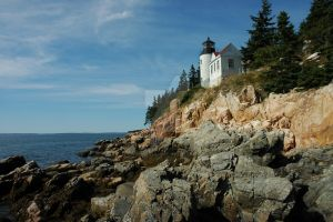 Maine Light House by bearhunterimages