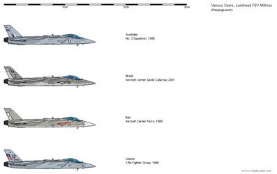 Lockheed F5V Foreign Operators by Vexiphile