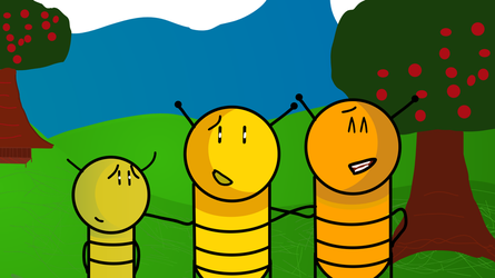 Buzzy Bee and Siblings by BuzzNBen