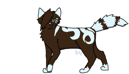 River +Gift+ +Redraw+ by Warrior-Cats-Girl14