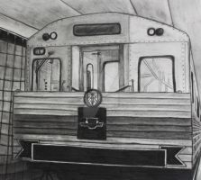 Taking the subway by Living-Life-Loud