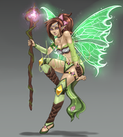 Woodlands Fairy Adopt Auction [Closed] by FabuAdopts