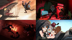 Gravity Falls: Grunkle Stan Fight Scenes by Evanh123