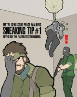 MGS PeaceWalkers Sneaking tip1 by the-lagz