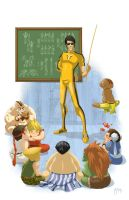 Street Fighter: Origins - with Bruce Lee by DrawJinDraw-jinhan
