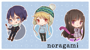 Noragami Acrylic Charms by akifei