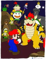 Super Mario World by Bleuxwolf