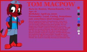 Tom MacPow Reference by Jeremy-the-Blockhead