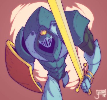 The Champ from Slay the Spire by jouste