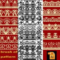 brush of pattern by roula33