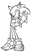 -LIVESTREAM- Collab Lineart by sonicbommer