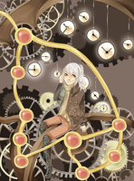 Time Keeper by Pandastrophic
