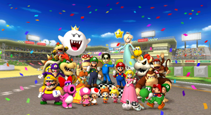 Mario Kart Wii Victory Screen by TonyToad22