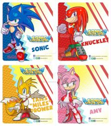 Sonic, Knuckles, Miles and Amy by eliana55226838