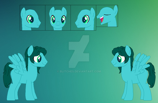 Rainbow Clash Ref Sheet by Blitches