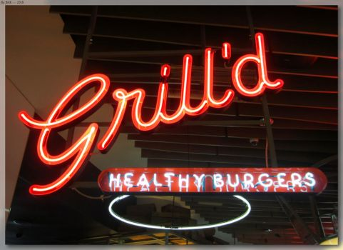 Grill'd - Centrepoint Neon Sign by JohnK222