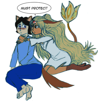 Must protec by Ardhamon