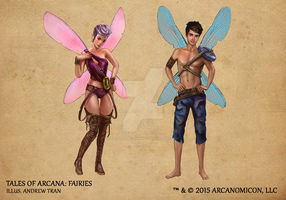 Tales of Arcana 1st Set - Fairies by TalesofArcanaRPG