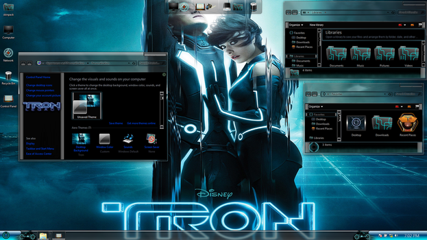 Tron Legacy on Win7 by hs1987