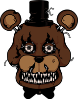Five Nights at Freddy's - Nightmare Freddy by kaizerin