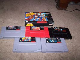 My Vg collection part 3: SNES by StSubZero