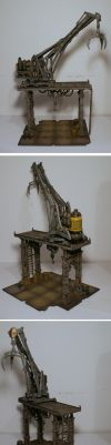 Sector Mechanicus crane by half-halfling