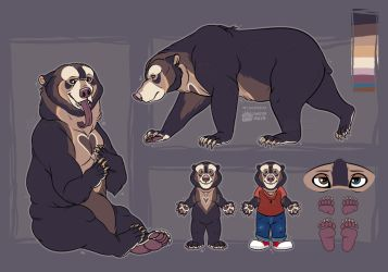 Sunbear Design Commission by RussianBlues