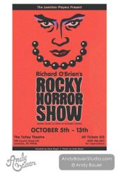 Rocky Horror Show - Poster Design by Andy Bauer by Art-by-Andy