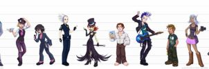 The Flaky Gene: Line-up by falingard