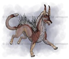 Quill-Dog Full Body by Freha