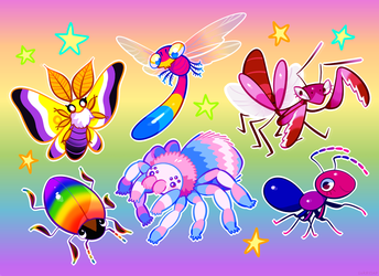 PRIDEFUL BUGS by sorrysap