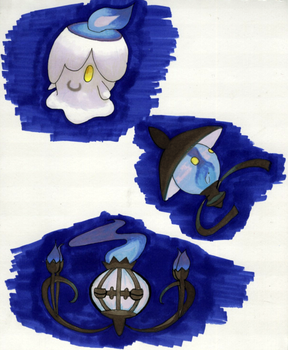 Litwick Evolutions by Vulli