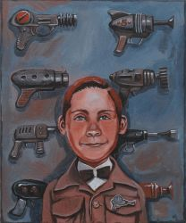 Billy the Ray Gun Marksman by Bewheel