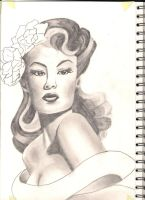 pin up bust by connor179bc