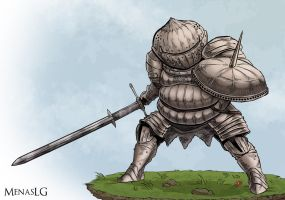 Dark Souls: Siegmeyer by MenasLG