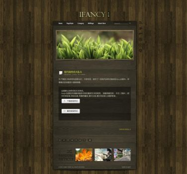 iFancy-Theme-dark by YesCola