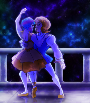 C: Under the Galaxies by Aileen-Rose