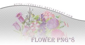 Flower png pack #07 by yynx151