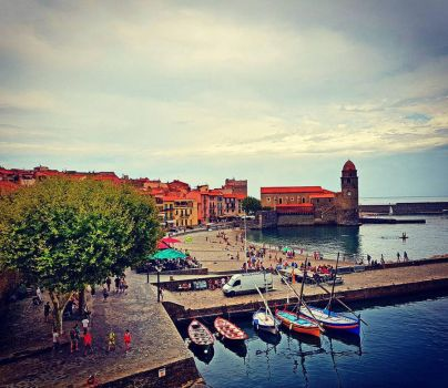 Collioure, France by BenHeine