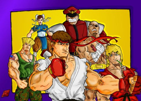 Street Fighter Tribute by Jey2K